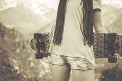 Cultura popular da hippie da juventude em América nos anos 60 fotografia de stock royalty free
