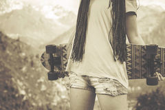 Cultura popular del hippie de la juventud en América en los años 60 Fotografía de archivo libre de regalías