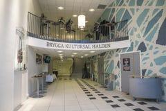 Cultura-salão Halden do cais, vestíbulo Imagem de Stock Royalty Free