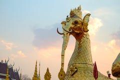 Cultura tailandesa da Buda Foto de Stock
