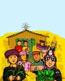 Cultura tailandesa de Indegenous de la celebración de la tribu de la colina libre illustration