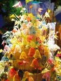 Cultura tailandesa Namo fotos de stock
