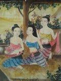 cultura tailandese in vicino Immagini Stock
