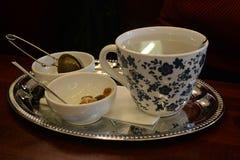 Cultura vienesa del café Imagen de archivo