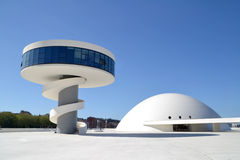 Cultural Center in Aviles Royalty Free Stock Photo