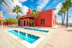 Cultural center Castillo Bil Bil in Benalmadena, Andalusia, Spai Stock Photo