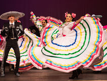Cultural dance Royalty Free Stock Photo
