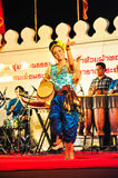 The cultural drum dance show Stock Photography