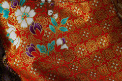 Cultural fabric pattern of  Thailand. Stock Image
