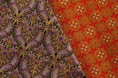 Cultural fabric pattern of  Thailand. Stock Images