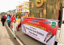 Cultural Festival Manokwari 2017 Royalty Free Stock Images