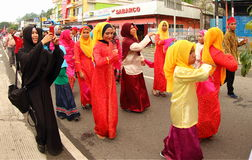 Cultural Festival Manokwari 2017 Royalty Free Stock Photography