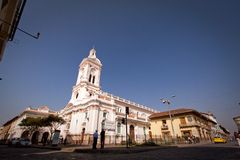 Cultural and historical landmark Iglesia de San Royalty Free Stock Image