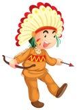 Cultural kid Royalty Free Stock Photo