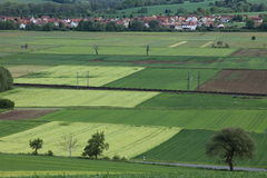 Cultural Landscape of Werratal Germany Royalty Free Stock Image