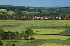 Cultural Landscape of Werratal Germany Stock Photography