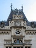 Cultural palace from - detail. The Cultural Palace from Iasi, the dome. Front of Royalty Free Stock Image