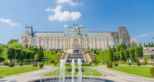 Cultural Palace in Iasi Royalty Free Stock Image