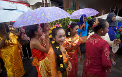 Cultural parade Royalty Free Stock Photography
