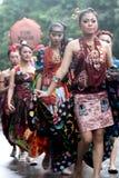 Cultural parade Stock Image