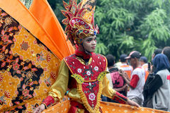 Cultural parade Royalty Free Stock Images