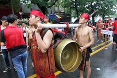 Cultural parade Royalty Free Stock Photo
