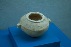 Cultural relics - POTS. During the spring and autumn period pottery, precious cultural relics antique BC, around 3000 years ago Stock Photography