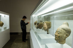 Cultural relics - the Terra Cotta Warriors Stock Photography