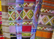 Cultural textiles Stock Images