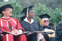 Free Culturally Diverse Faculty In Formal Robes Stock Photography - 25964692