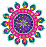 Culture art pattern Royalty Free Stock Photography