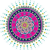 Culture art pattern Royalty Free Stock Image