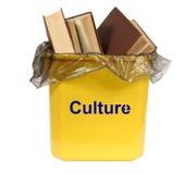 Culture in the bin Stock Photos