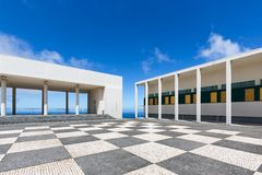 Culture centre in Ponta do Pargo at Madeira Island Royalty Free Stock Image
