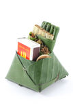 Culture comestible de consommation de paume de bétel de feuille de bétel de la Thaïlande Photo libre de droits