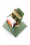 Culture comestible de consommation de paume de bétel de feuille de bétel de la Thaïlande Images stock