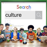 Culture Customs Belief Ethnicity Concept.  Royalty Free Stock Image