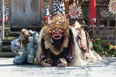 Culture de Bali Indonésie de danse de Barong photos stock