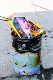 culture de papier de brûlure Photographie stock