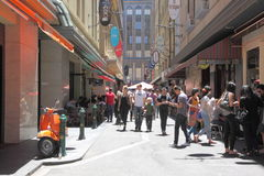Culture de ruelle de Melbourne Photo libre de droits