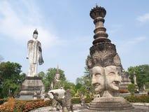 Culture de temple de Bouddha en Thaïlande Images stock