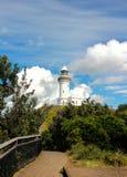 Culture de verticale de phare de Byron image stock
