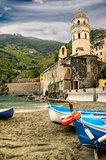 Culture and Economy Cinque Terre Royalty Free Stock Image