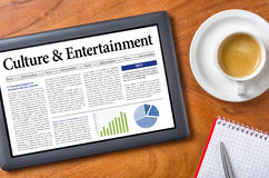 Culture and Entertainment Stock Image