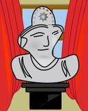 Culture et restes de Roman Empire antique illustration libre de droits