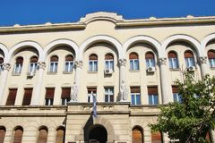 The culture house of Banja Luka, Bosnia and Herzegovina. Southeast Europe Stock Images