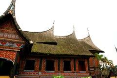 culture house sumatra Royalty Free Stock Image
