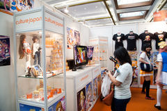 Culture Japan Stand in Anime Festival Asia - Indonesia 2013 Stock Photo