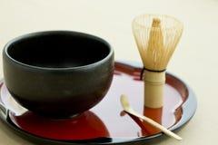 Culture japonaise de thé Photos stock