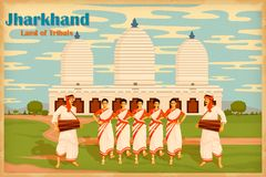 Culture of Jharkhand Stock Images